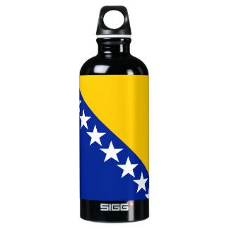 Bosnia and Herzegovina Flag Aluminum Water Bottle