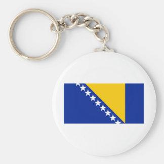 Bosnia and Herzegovina Flag BA Key Chain