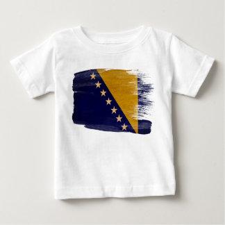 Bosnia and Herzegovina Flag Baby T-Shirt