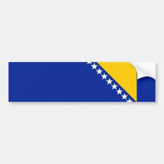 Bosnia and Herzegovina Flag Bosnian//Herzegovinian Bumper Sticker
