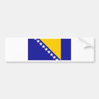 Bosnia and Herzegovina Flag Bumper Sticker