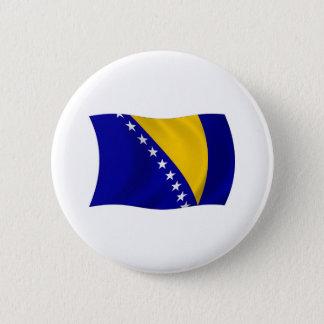 Bosnia and Herzegovina Flag Button