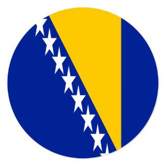 Bosnia and Herzegovina Flag Card