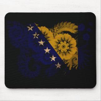 Bosnia and Herzegovina Flag Mouse Pad