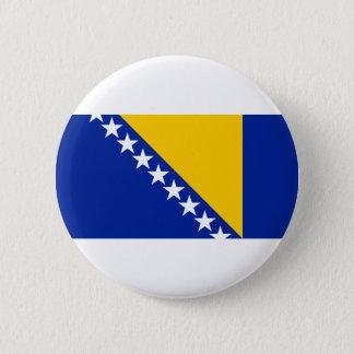 Bosnia and Herzegovina Flag Pinback Button