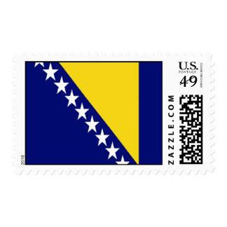 Bosnia and Herzegovina Flag Stamp