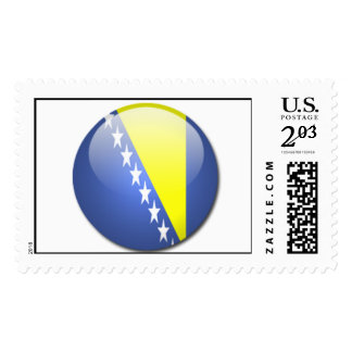 bosnia and herzegovina flag postage