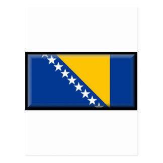 Bosnia and Herzegovina Flag Postcard