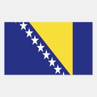 Bosnia and Herzegovina Flag Rectangular Sticker