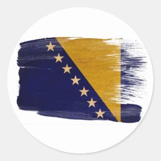 Bosnia and Herzegovina Flag Stickers