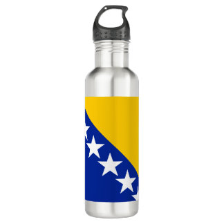 Bosnia and Herzegovina Flag Water Bottle