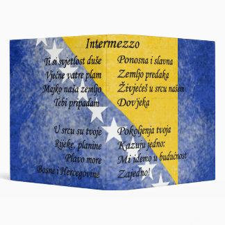 Bosnia and Herzegovina - Intermezzo 3 Ring Binder