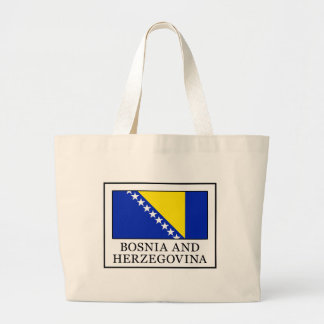 Bosnia and Herzegovina Large Tote Bag