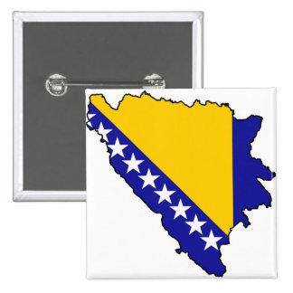 Bosnia and Herzegovina map BA Pins