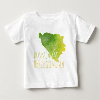 Bosnia and Herzegovina Map Baby T-Shirt