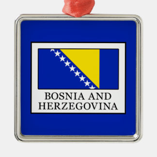 Bosnia and Herzegovina Metal Ornament
