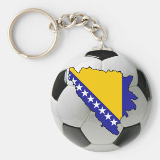 Bosnia and Herzegovina national team Basic Round Button Keychain