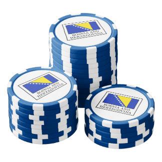 Bosnia and Herzegovina Poker Chips Set