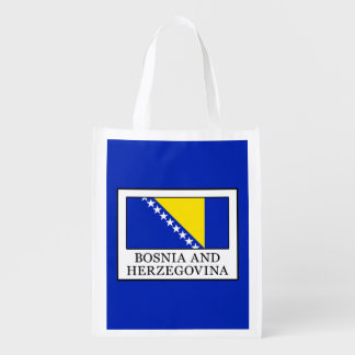 Bosnia and Herzegovina Reusable Grocery Bag