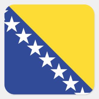 bosnia and herzegovina square sticker