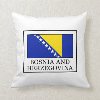 Bosnia and Herzegovina Throw Pillow