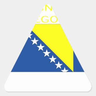 Bosnia and Herzegovina Triangle Sticker