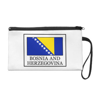 Bosnia and Herzegovina Wristlet Purse