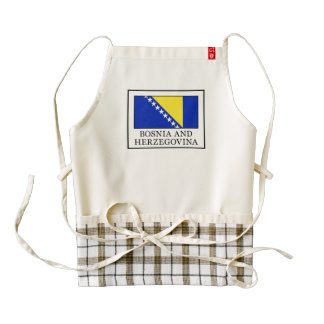 Bosnia and Herzegovina Zazzle HEART Apron
