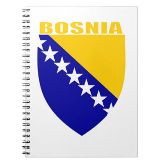 Bosnia Coat of Arms Spiral Notebook