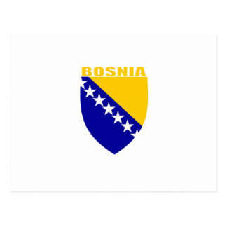 Bosnia Coat of Arms Postcard