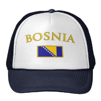 Bosnia de oro gorros