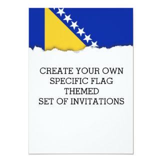 Bosnia Flag Card