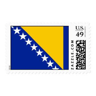 Bosnia Flag Postage