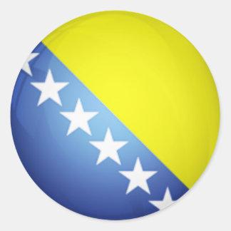 Bosnia Flag Sticker