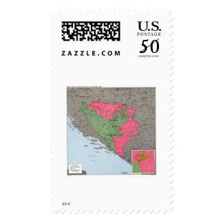 Bosnia & Hercegovina Map - 1995 Postage