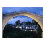 Bosnia-Hercegovina - Mostar. The Old Bridge 2 Post Cards