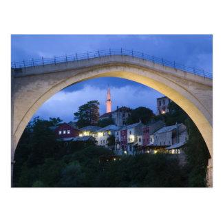 Bosnia-Hercegovina - Mostar. The Old Bridge 2 Postcard