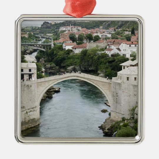 Bosnia-Hercegovina - Mostar. The Old Bridge Metal Ornament