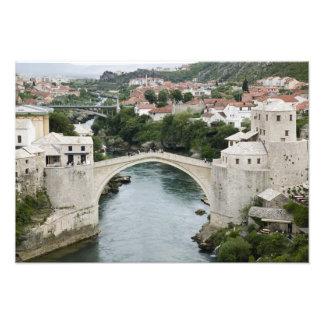 Bosnia-Hercegovina - Mostar. The Old Bridge Photographic Print