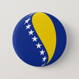 Bosnia Herzegovina Fisheye Flag Button
