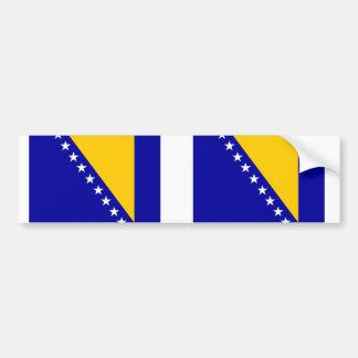 Bosnia Herzegovina flag Bumper Sticker