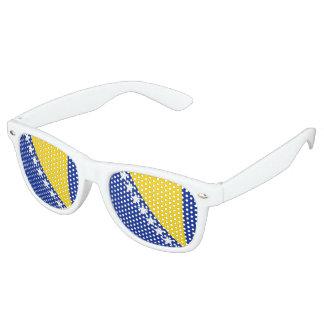 Bosnia Herzegovina Flag Retro Sunglasses