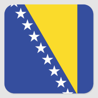 Bosnia Herzegovina Flag Sticker