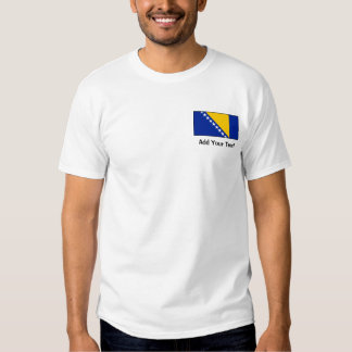 Bosnia & Herzegovina Flag T Shirt