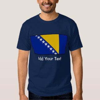 Bosnia & Herzegovina Flag Tee Shirt