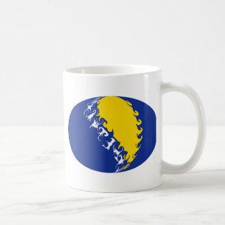 Bosnia Herzegovina Gnarly Flag Mug