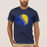 Bosnia Herzegovina Gnarly Flag T-Shirt