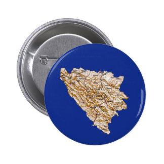 Bosnia Herzegovina Map Button