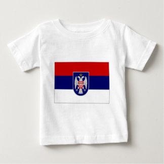 Bosnia Herzegovina Republika Srpska Flag Baby T-Shirt