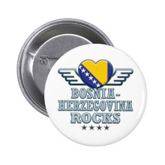 Bosnia-Herzegovina Rocks v2 Pins